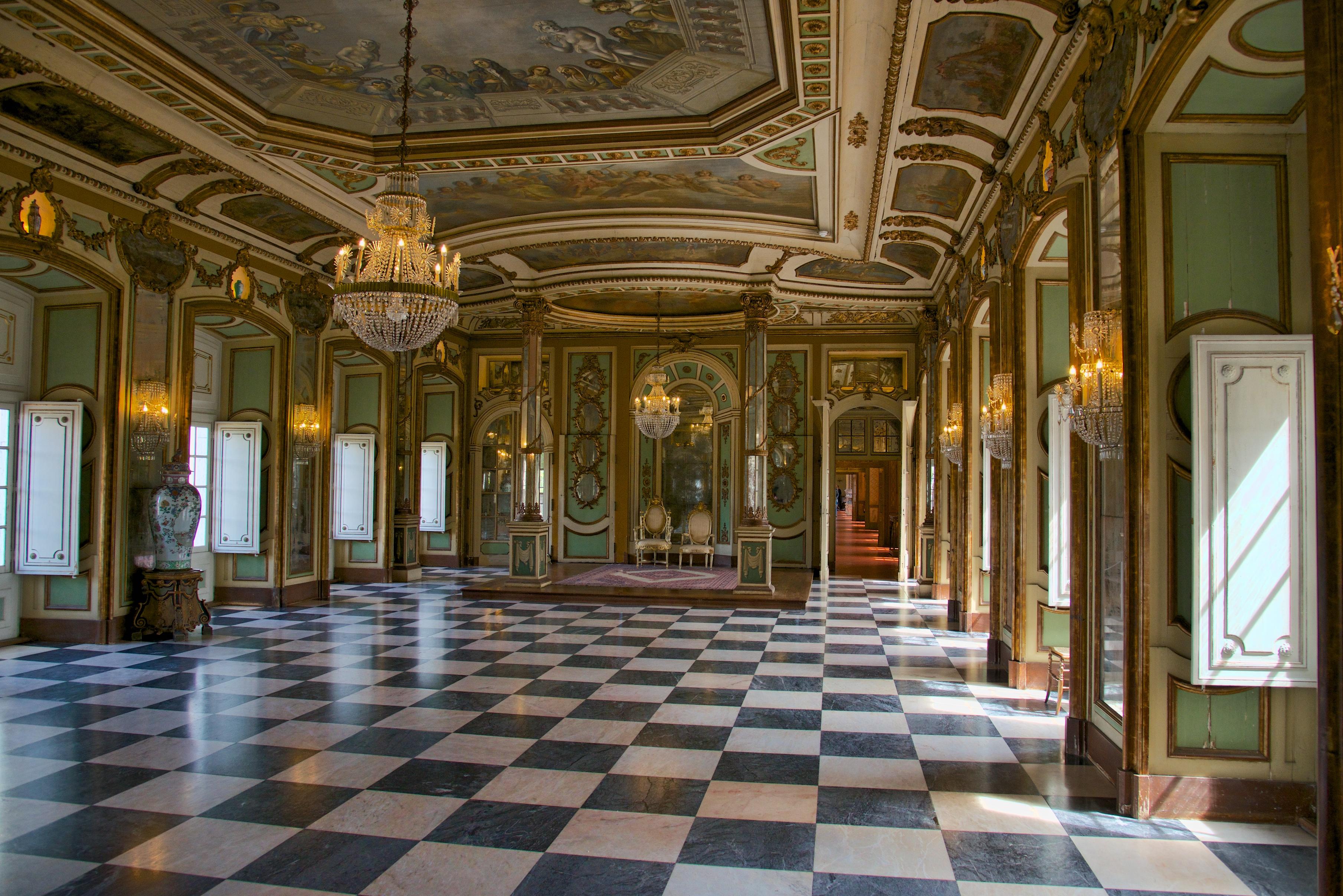 Palacio Nacional Queluz Portugal Hebrew Word Study